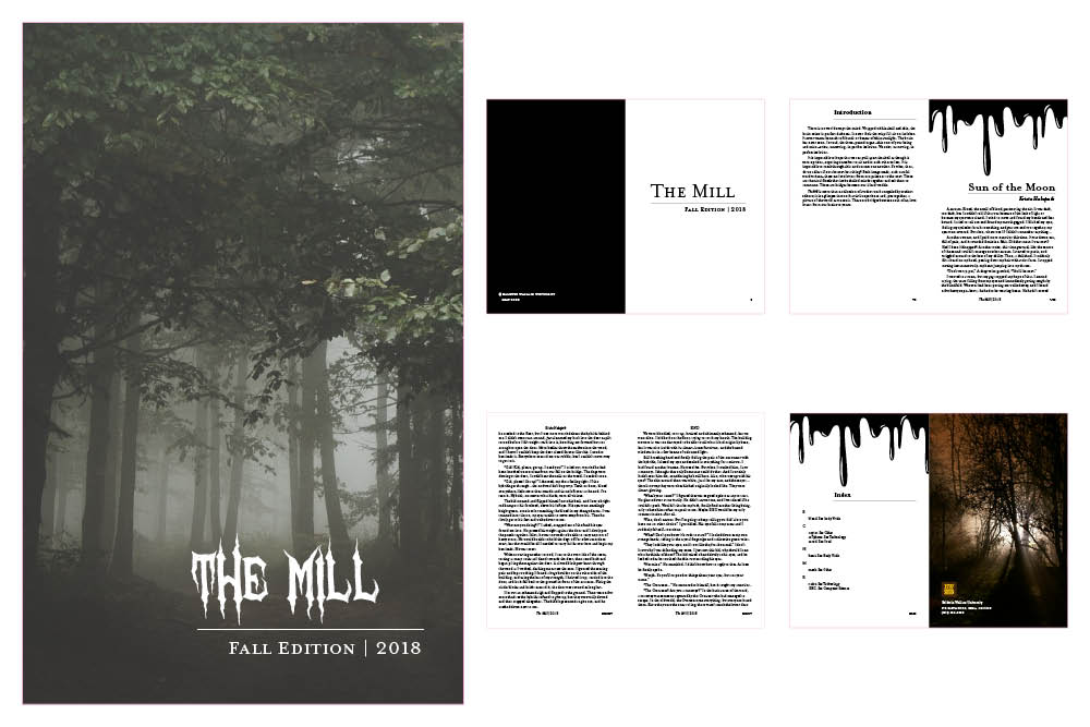 literary journal design